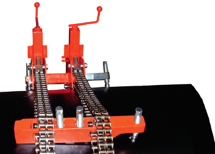 Центратор с двумя цепями Double Chain Clamp PSW (254-6096 мм)
